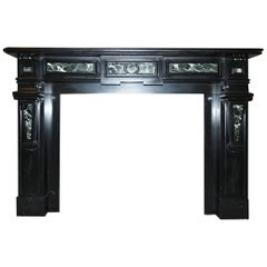 Antique Fireplace Mantel, 19th Century