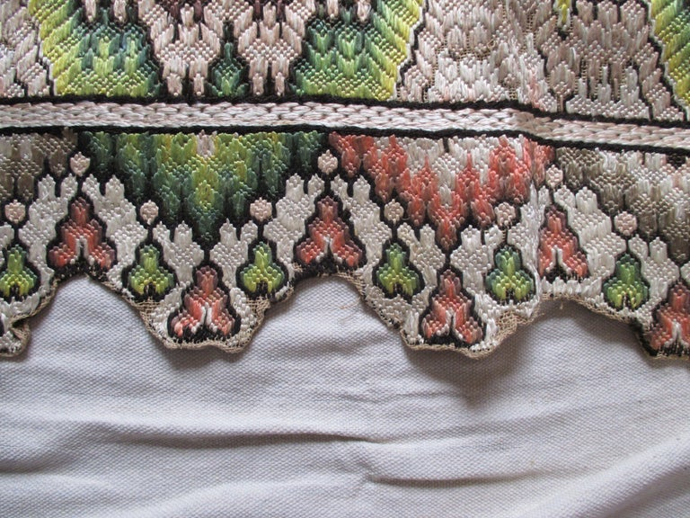 Italian Antique Flame Stitch