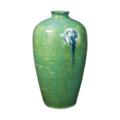 Antique Flaminian Vase, Art Nouveau, Moorcroft, Liberty, London, Edwardian, 1910