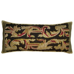 Antique Flemish Tapestry Pillow, circa 19th Century 1714p
