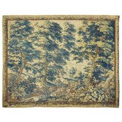 Antique Flemish Verdure Tapestry, circa 1720