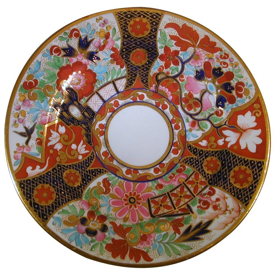 Antique Flight Barr & Barr Worcester Porcelain Dessert Plates