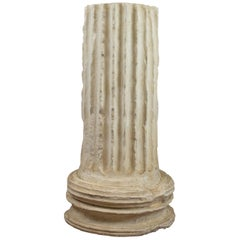 Fluted Column Base, Victorian, Architectural, Pedestal, Classical, circa 1900