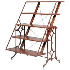 Antique Folding Shelf / Table, Boeckh Brothers, Canada
