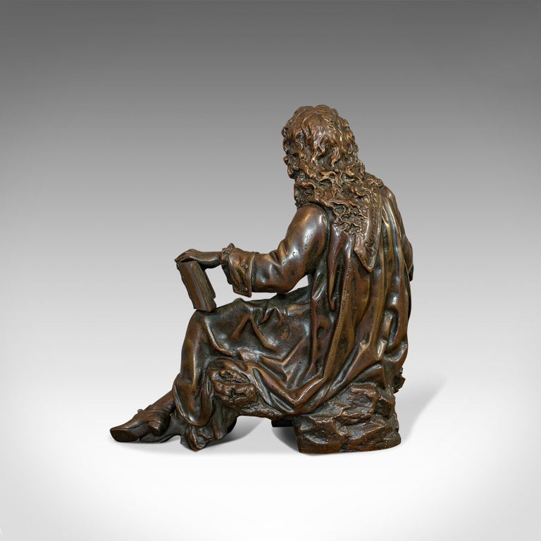 Antique Fontaine Figure, French, Bronze, Statue, After Ernest Rancoulet For Sale 2