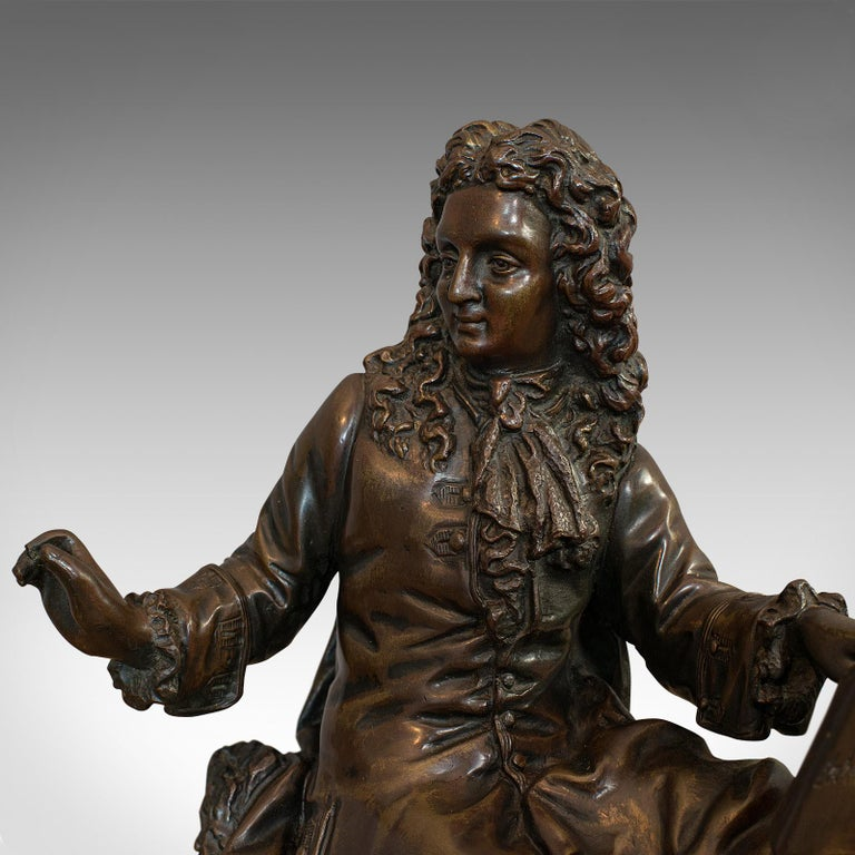 Antique Fontaine Figure, French, Bronze, Statue, After Ernest Rancoulet For Sale 4