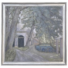 Antique Framed Oil Painting on Canvas by Floris de Groot