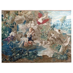 Antique French 17th Century Tapestry