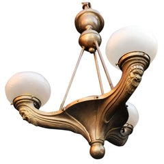 Antique French 1930 Chandelier
