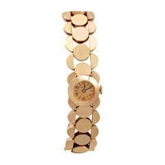Antique French 1933 Rose Gold Ladies Watch