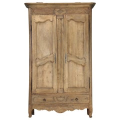 Antique French Armoire Restored, circa 200 Years Old