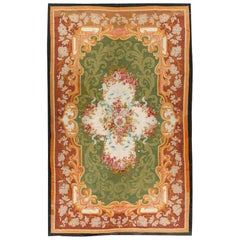 Antique French Aubusson Rug, circa 1850, 8'6 x 13'8