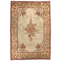 Antique French Aubusson Rug Savonnerie Rugs Carpets