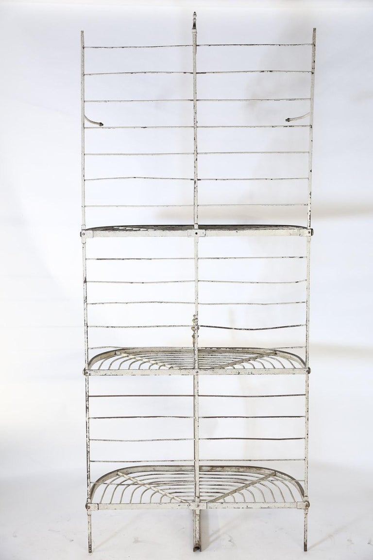 Antique French Bakers Rack 7