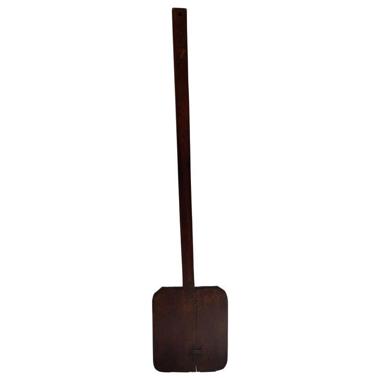 Antique French Baking Paddle For Sale