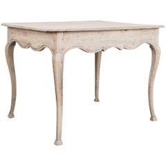 Antique French Bleached Oak Table
