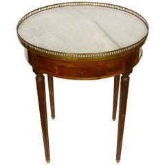 Antique French Bouilliotte Table