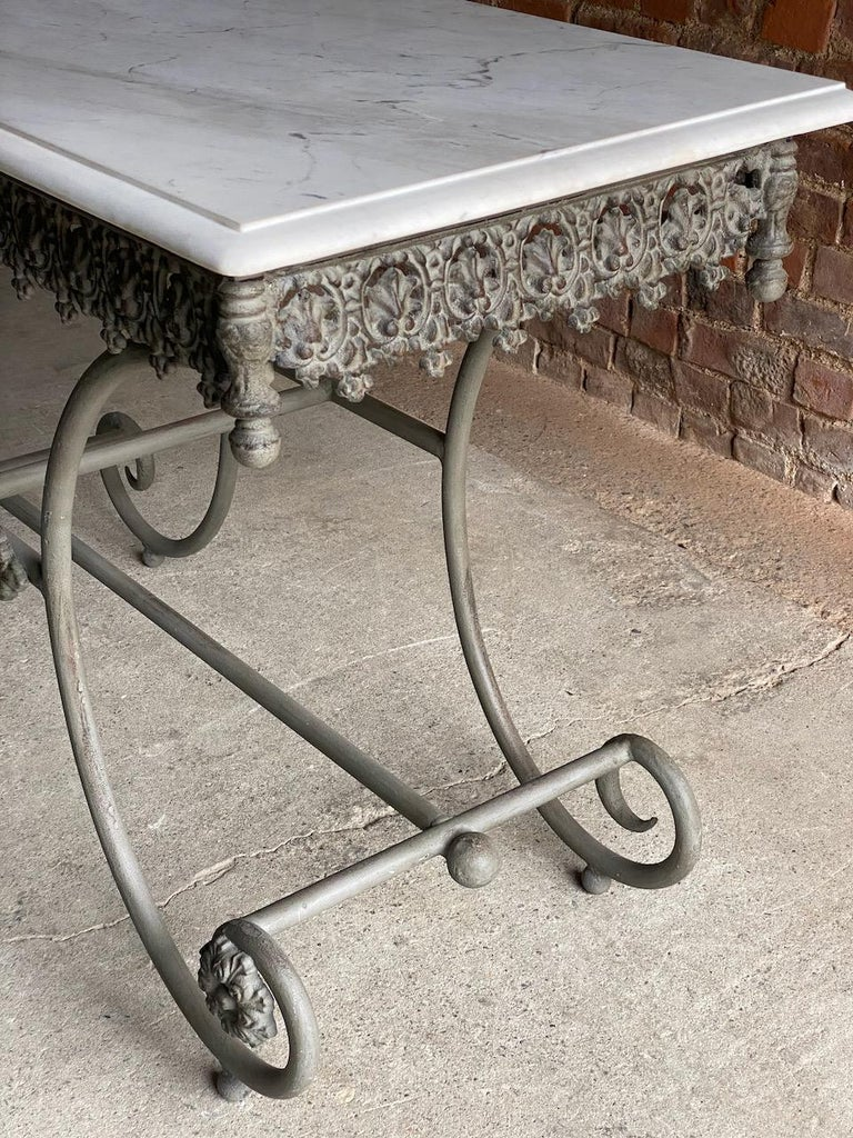 Antique French Boulangerie Pastry Table France, circa 1890  For Sale 4