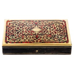 Antique French Boulle Box