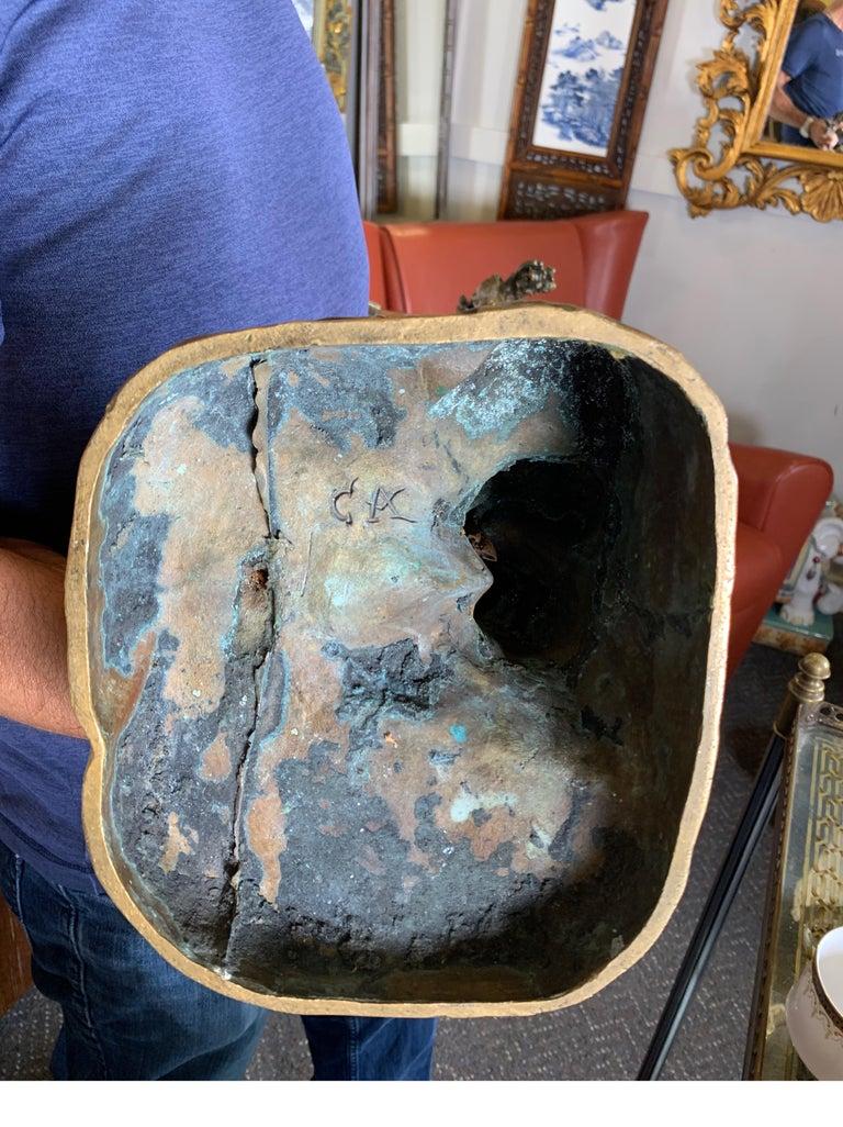 Antique French Bronze Art Nouveau Nude Sculpture For Sale 3
