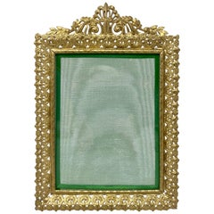Antique French Bronze D'ore Picture Frame, circa 1890
