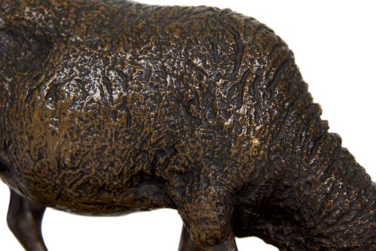 Antique French Bronze Sculpture of Sheep by Rosa Bonheur, 19th Century For Sale 12