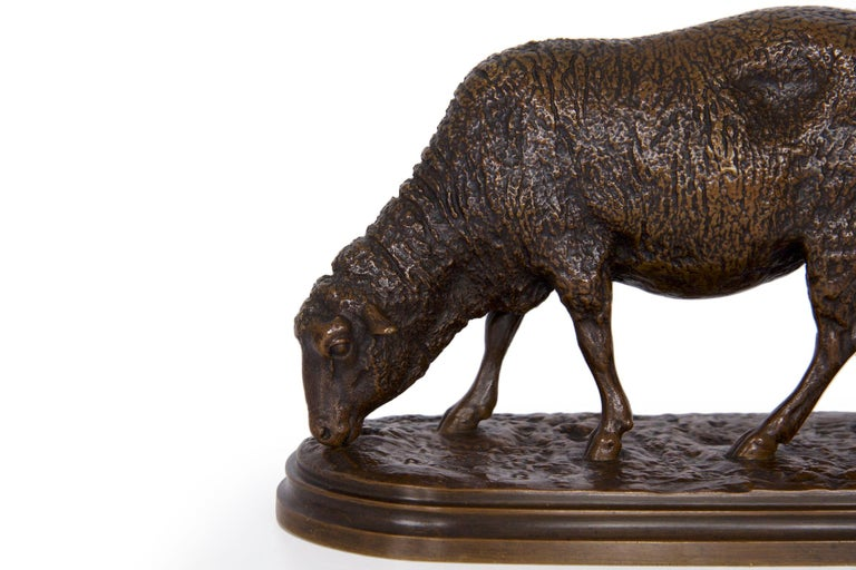 Though she only produced a limited variety of sculpture models in her lifetime, Rosa Bonheur's sheep are some of the most cherished. Sensitive and exacting, the manner in which she could capture their chaotic wool while also rendering very fine