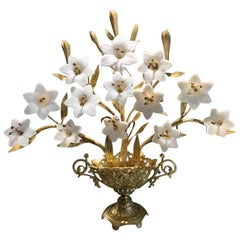 Antique French Candelabra or Alter Ornament, circa 1890