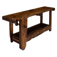 Wood Industrial and Work Tables