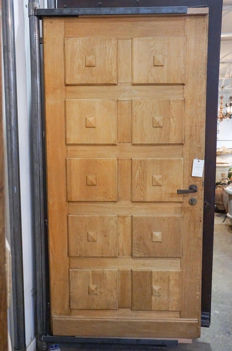 Antique French carved door.