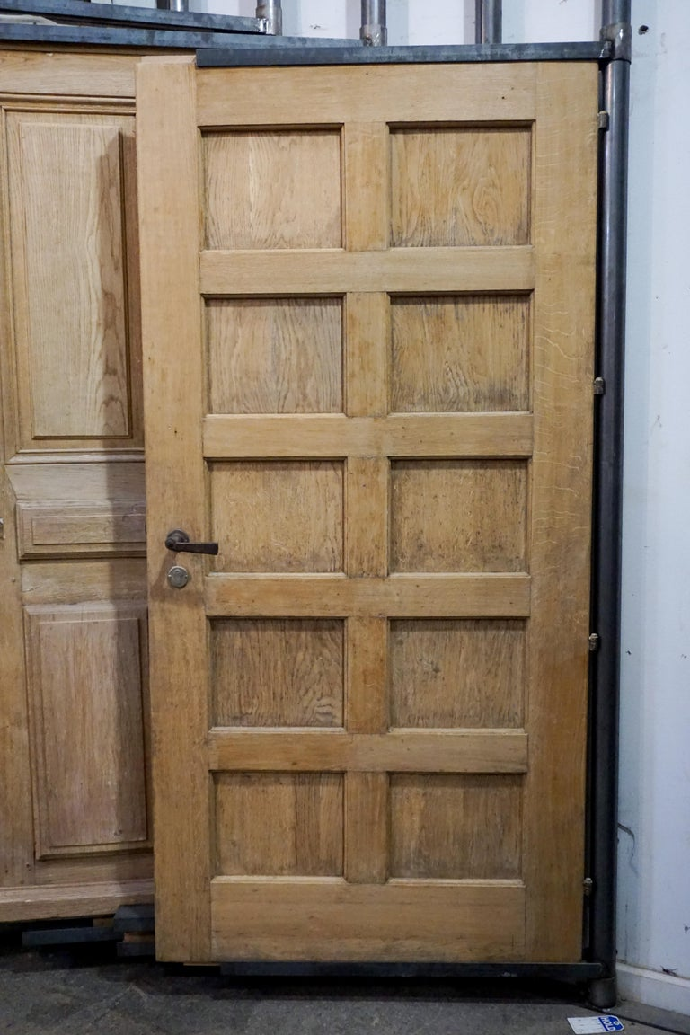 Antique French Carved Door For Sale 1