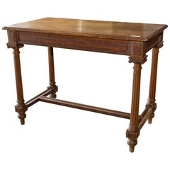 Antique French Carved Wood Empire Style Table, circa 1900