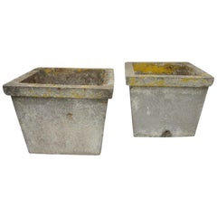 Antique French Cement Planters