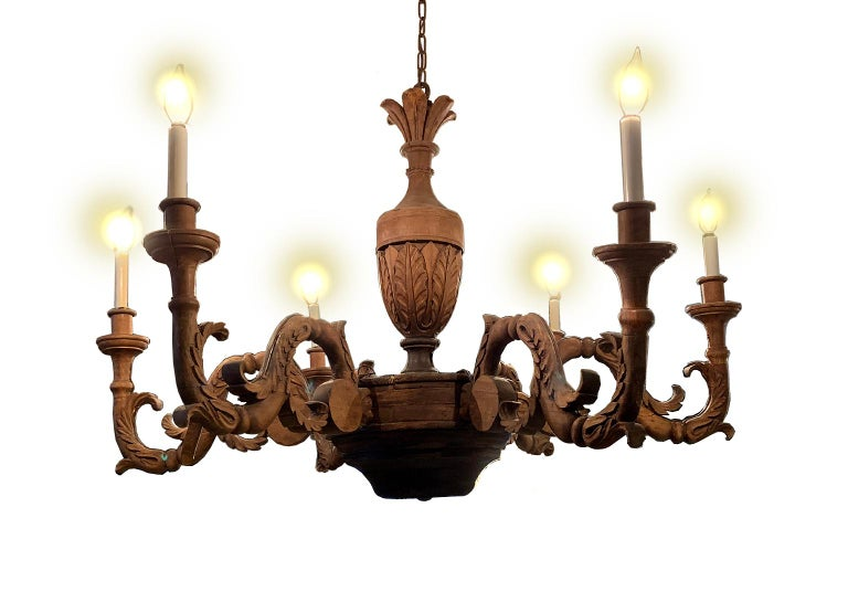 Large Antique French Chandelier For Sale 2