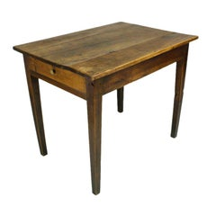 Antique French Cherry End Table