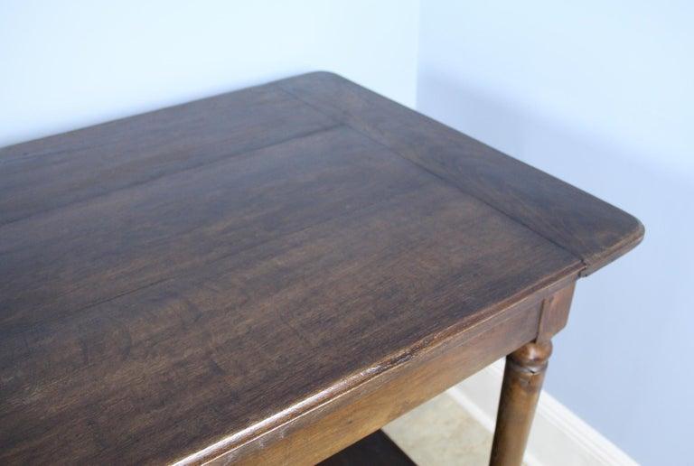 Antique French Chestnut Draper's Table 3