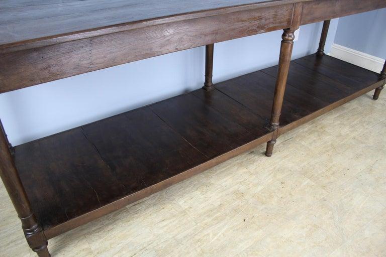 Antique French Chestnut Draper's Table 4
