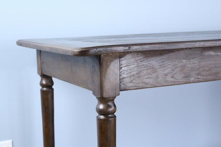 Antique French Chestnut Draper's Table 5
