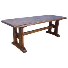 Antique French Chestnut Refectory Table