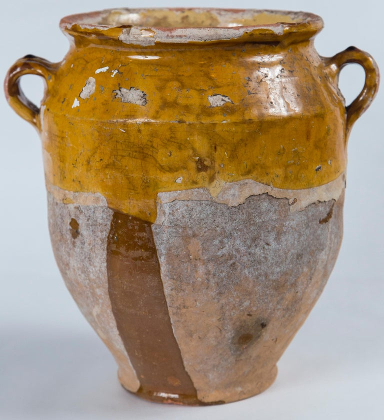 Antique French Confit Pot, circa 1900 In Good Condition For Sale In Chappaqua, NY