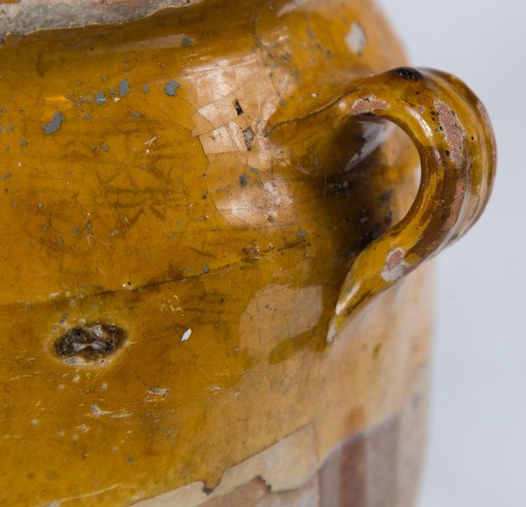 Antique French Confit Pot, circa 1900 For Sale 1