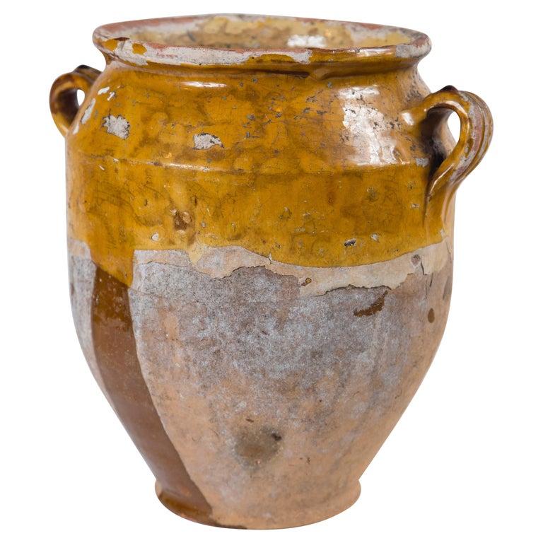 Antique French Confit Pot, circa 1900 For Sale