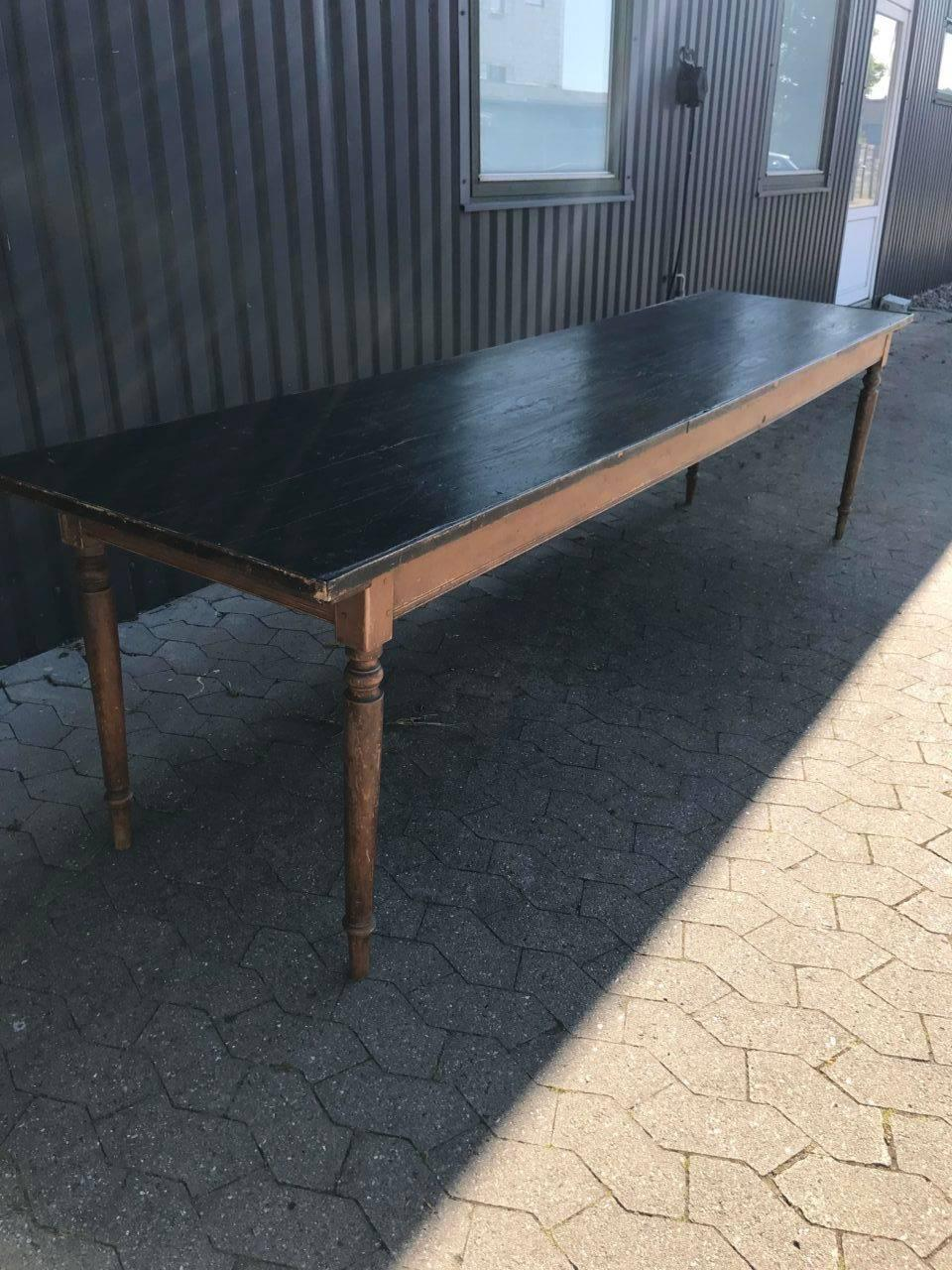 Lovely Antique French Wooden Refectory Long Table. Provenance U2013 A Convent  From The South Of