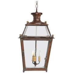 Antique French Copper Lantern, Restored