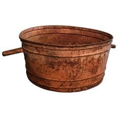 Antique French Copper Tubs, circa 1910