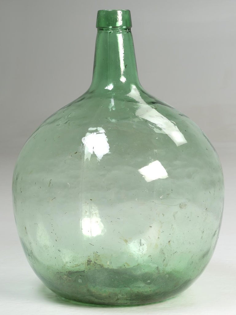 Country Antique French Demijohn or Carboy For Sale