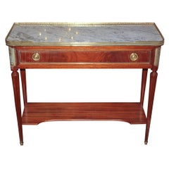 Antique French Directoire Console or Server