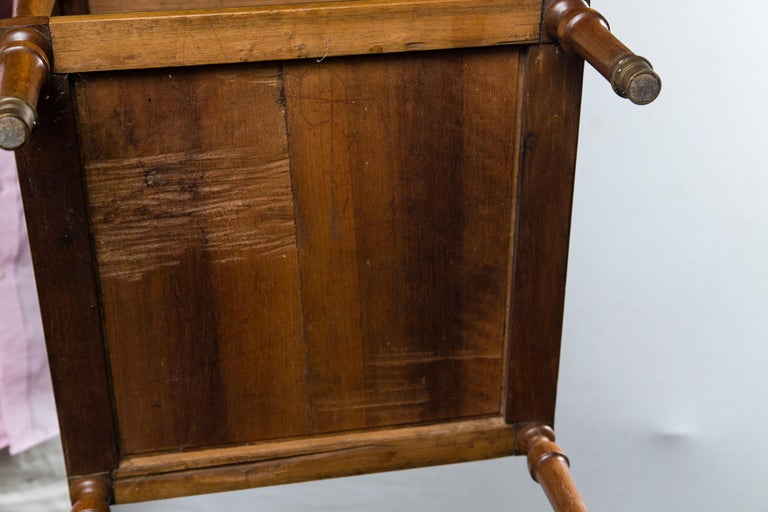 Antique French Directoire Miniature  Roll Top Desk For Sale 3