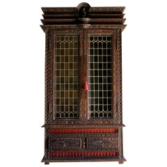 Antique French Display Cabinet Napoleon III 19th Century, circa 1850