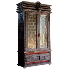 Antique French Display Cabinet Napoleon III, 19th Century, circa 1850